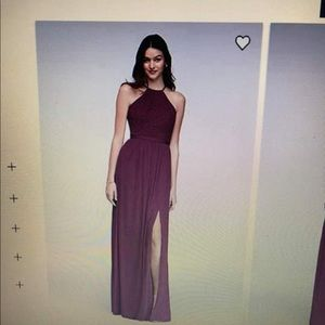 Bridesmaid dress in the color wine! Size 12.